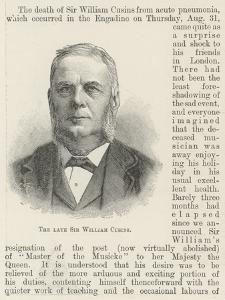 The Late Sir William Cusins