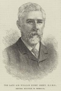 The Late Sir William Kirby Green, British Minister in Morocco