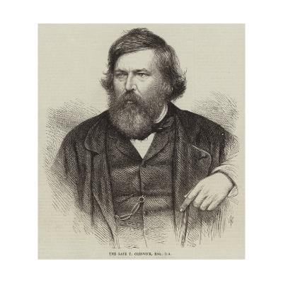 The Late T Creswick--Giclee Print