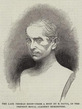 The Late Thomas Hood--Framed Giclee Print