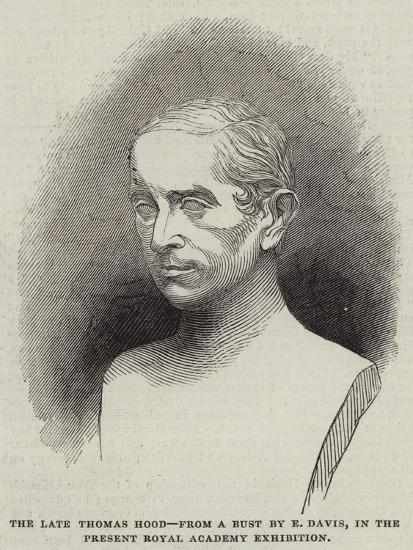 The Late Thomas Hood--Giclee Print