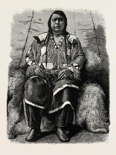 The Late Ute Indian Chief, Ouray, U.S., 1880 1881--Giclee Print