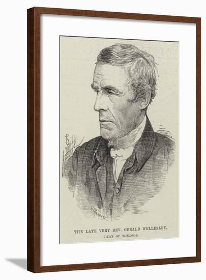The Late Very Reverend Gerald Wellesley, Dean of Windsor--Framed Giclee Print