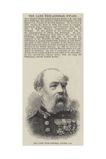 The Late Vice-Admiral Ewart--Giclee Print