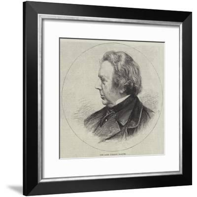 The Late William Harvey--Framed Giclee Print