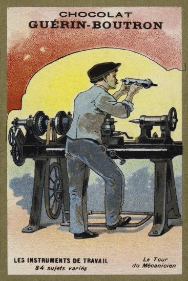 The Lathe--Giclee Print