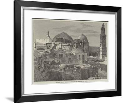 The Latin Church of the Holy Sepulchre at Jerusalem--Framed Giclee Print