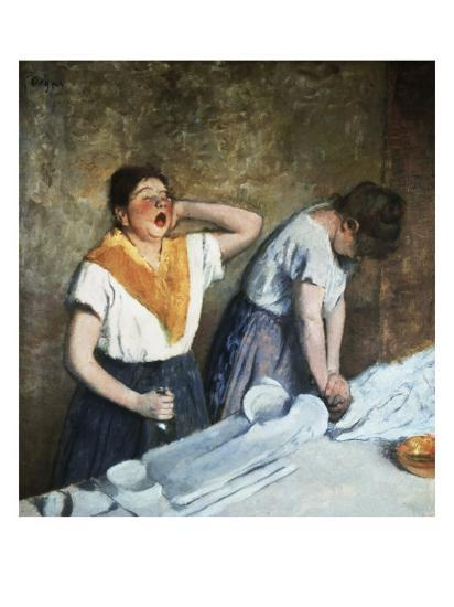 The Launderesses-Edouard Manet-Giclee Print
