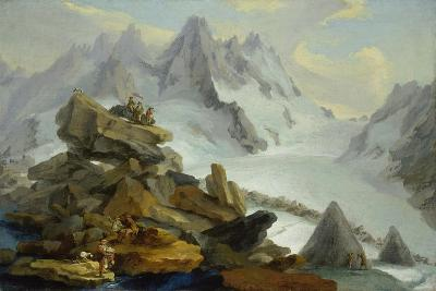 The Lauteraar-Glacier-Caspar Wolf-Giclee Print