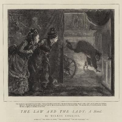 The Law and the Lady, a Novel-Sydney Prior Hall-Giclee Print