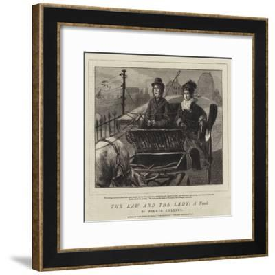The Law and the Lady, a Novel-Sydney Prior Hall-Framed Giclee Print