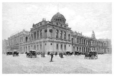 The Law Courts, Melbourne, Victoria, Australia, 1886--Giclee Print