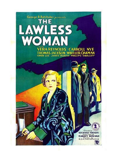 The Lawless Woman, Far Left: Vera Reynolds, 1931--Photo