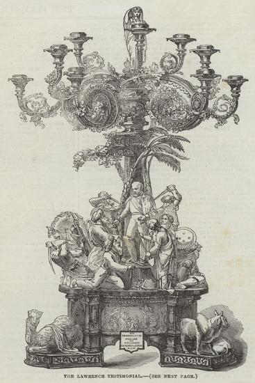 The Lawrence Testimonial--Giclee Print