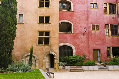 The Lawyers House in Old Town Vieux Lyon, France-Russ Bishop-Photographic Print