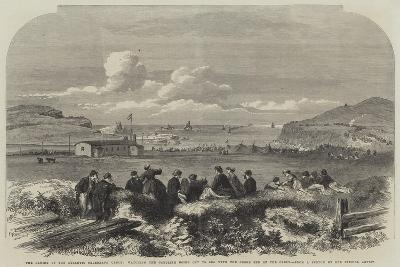 The Laying of the Atlantic Telegraph Cable--Giclee Print