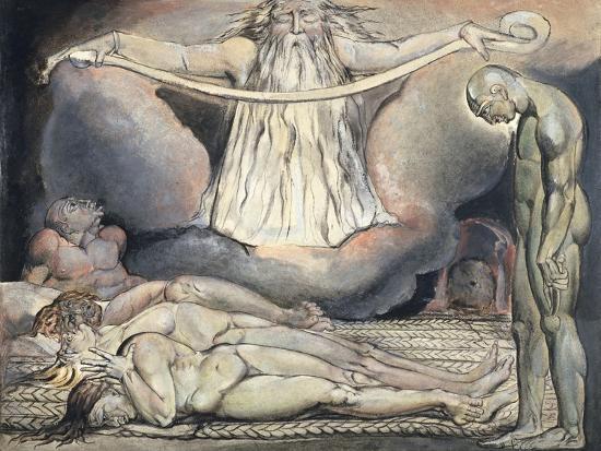The Lazar House, 1795-William Blake-Giclee Print