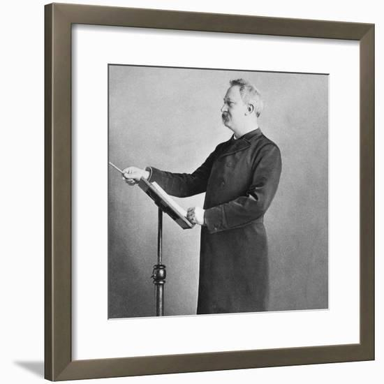 The Leader of the Band--Framed Photo