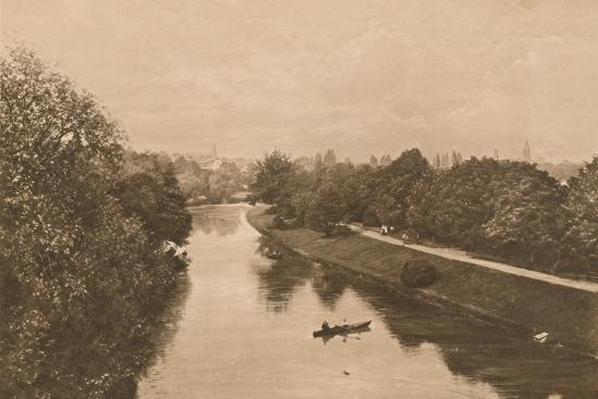 'The Leam at Leamington', 1902-Unknown-Photographic Print