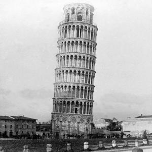 The Leaning Tower of Pisa, Italy, 1892