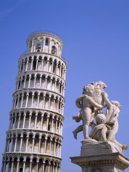 The Leaning Tower of Pisa, Pisa, Tuscany, Italy-Roy Rainford-Photographic Print