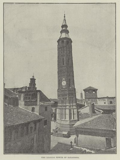 The Leaning Tower of Saragossa--Giclee Print