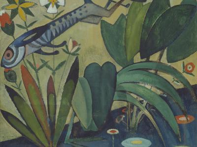 The Leap of the Rabbit, 1911-Amadeu de Souza-Cardoso-Giclee Print