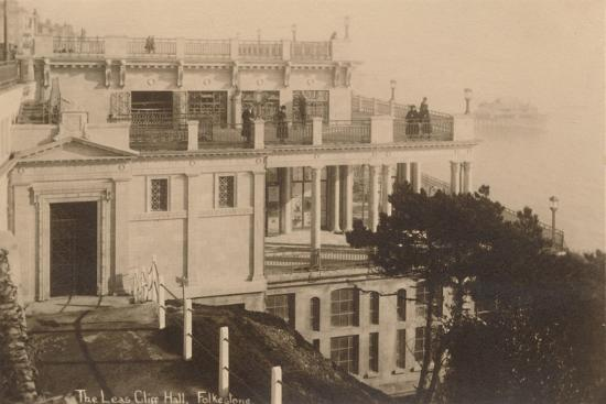 'The Leas Cliff Hall, Folkestone', late 19th-early 20th century-Unknown-Giclee Print