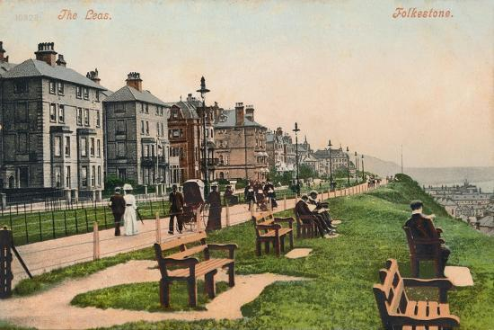 'The Leas. Folkestone', late 19th-early 20th century-Unknown-Giclee Print