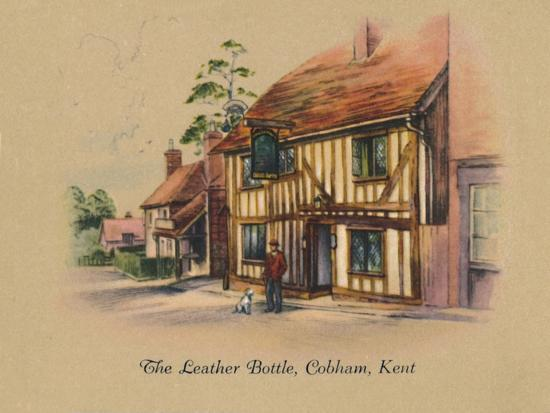 'The Leather Bottle, Cobham, Kent', 1939-Unknown-Giclee Print