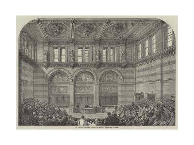 The Lecture Theatre, London University, Burlington Gardens--Giclee Print