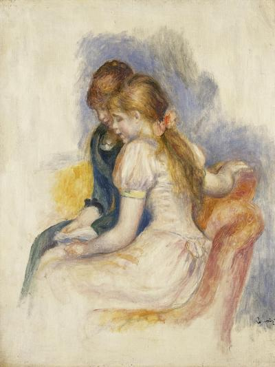 The Lecture-Pierre-Auguste Renoir-Giclee Print