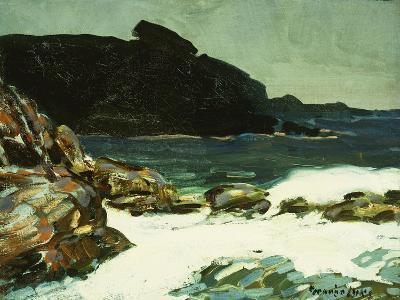 The Ledge, Cape Elizabeth, Maine, 1922-George Luks-Giclee Print