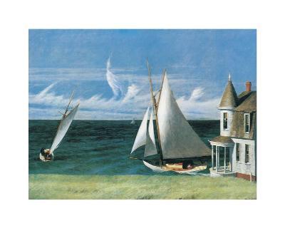 The Lee Shore-Edward Hopper-Art Print