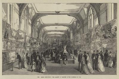 The Leeds Exhibition, the Gallery of British Living Painters in Oil--Giclee Print