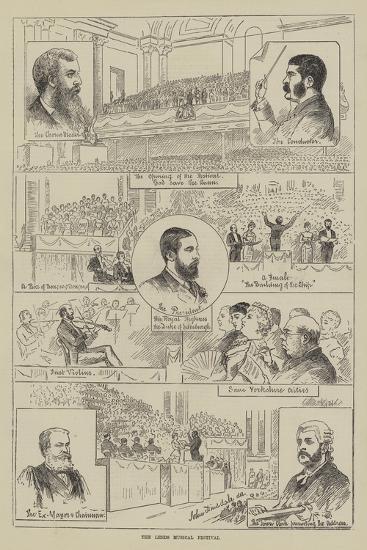 The Leeds Musical Festival--Giclee Print