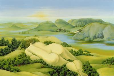The Legend of Balaton, 2003-Magdolna Ban-Giclee Print