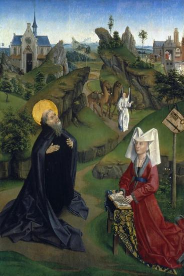 The Legend of St Antony, C1450--Giclee Print
