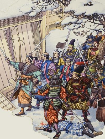The Legend of the Forty-Seven Ronin-Pat Nicolle-Giclee Print
