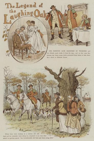 The Legend of the Laughing Oak-Randolph Caldecott-Giclee Print