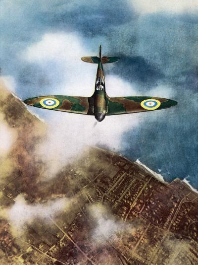 The Legendary Fighter is Seen Here in Its Original Format--Photographic Print