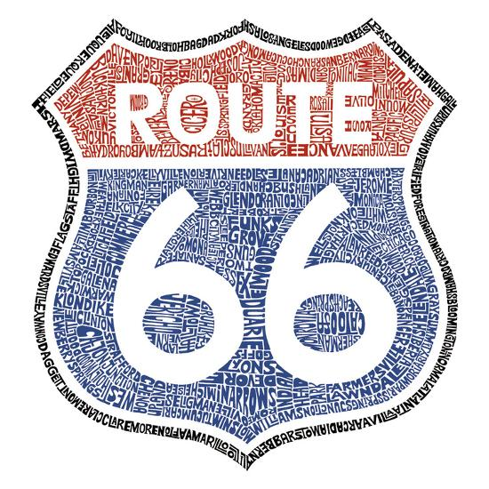 The Legendary Route 66--Art Print