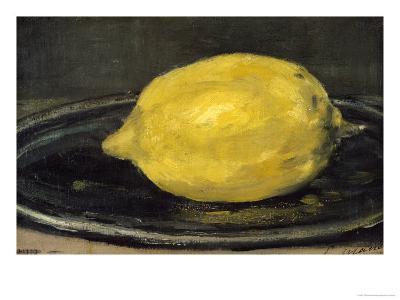 The Lemon, 1880-Edouard Manet-Giclee Print