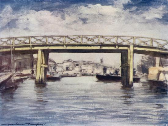 The Lemon Bridge-Mortimer Ludington Menpes-Giclee Print