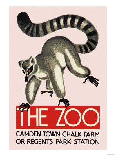 The Lemur--Art Print