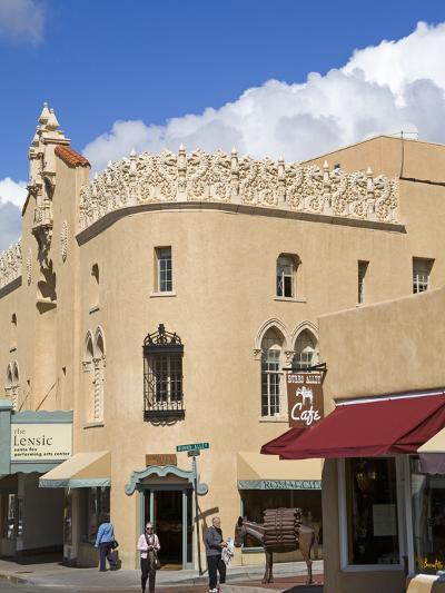 The Lensic Performing Arts Center, Santa Fe, New Mexico, United States of America, North America-Richard Cummins-Photographic Print