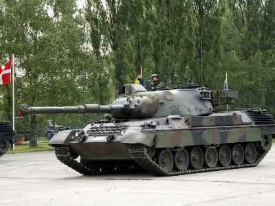 The Leopard 1A5 of the Belgian Army in Action-Stocktrek Images-Photographic Print