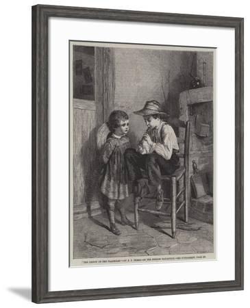 The Lesson on the Flageolet--Framed Giclee Print