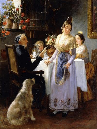 The Letter, 1897-Juan Antonio Benlliure y Gil-Giclee Print