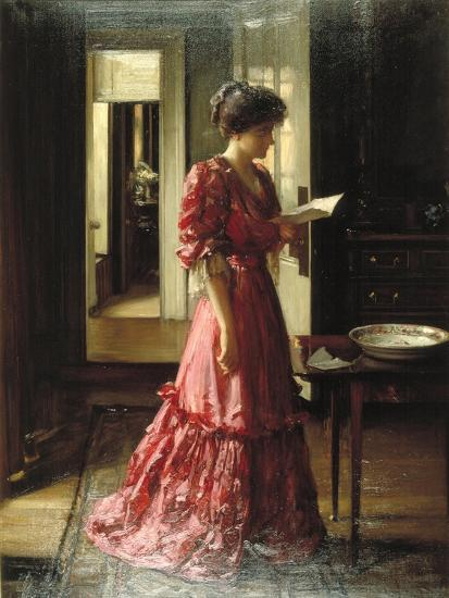 The Letter, 1910-William Mouat Loudan-Giclee Print